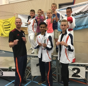 Goede prestaties Brabants open karatetoernooi door Wairando karateka's