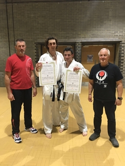 Jongste 4e dan karateka's van Wado International Karate Federation (WIKF)