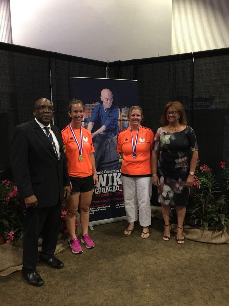Goud, zilver en brons voor de dames op WIKF wereldkampioenschap in Curacao