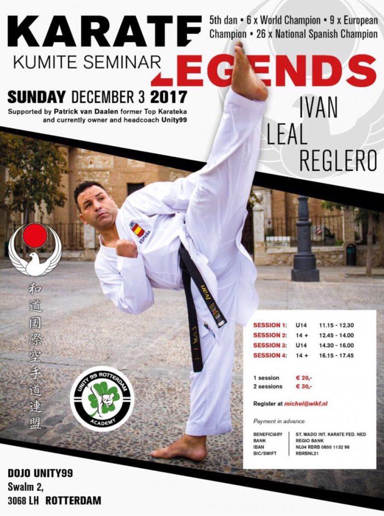 Kumite seminar Ivan Leal Reglero