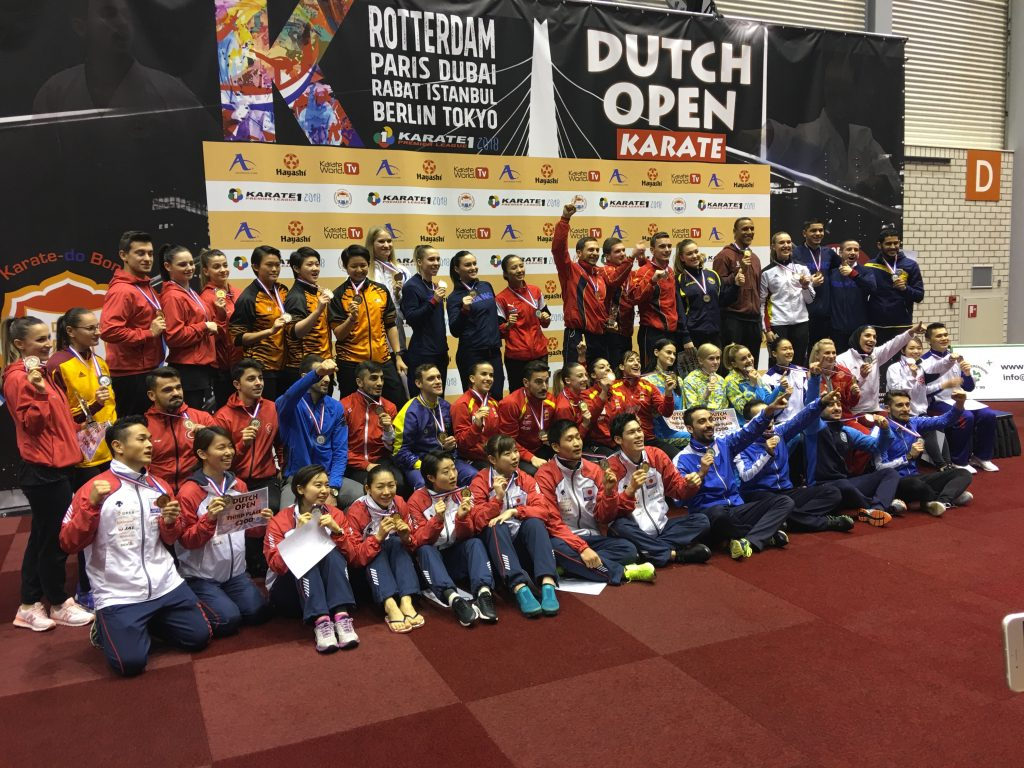 "Karate 1 Premier League 2018 – ""Dutch Open"""