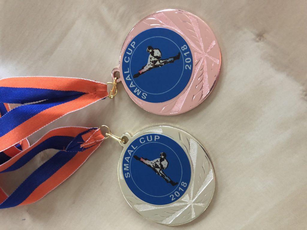 Kumite wedstrijden bij Smaal Cup voor Wairando goed verlopen