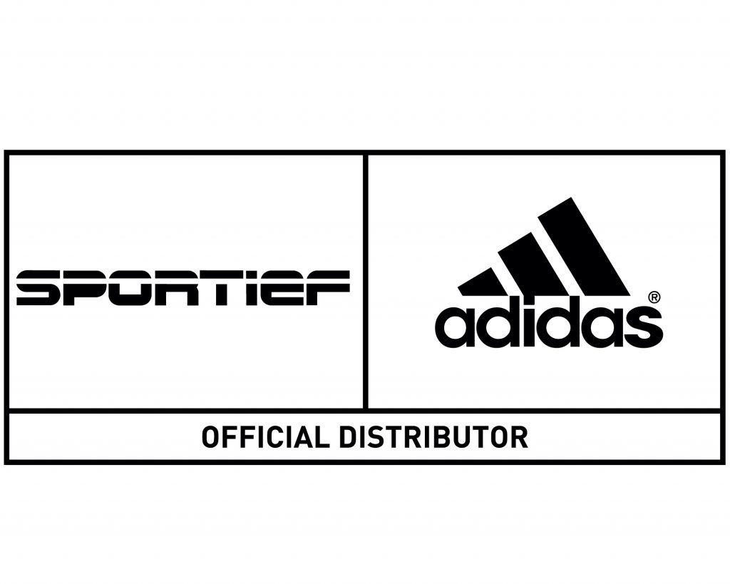 Logo Sportief BV, officieel distributeur van adidas