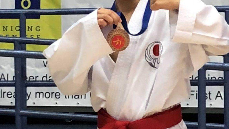 EK-selectie 2018 pakt podiumplaatsen op Internationaal karatetoernooi
