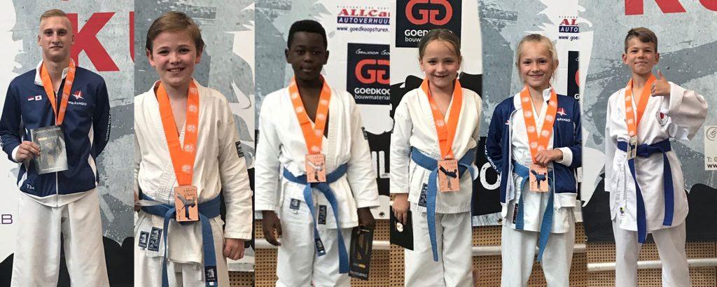 Karate instituut Wairando zet topprestatie neer op 6e open Waterlandse kampioenschappen