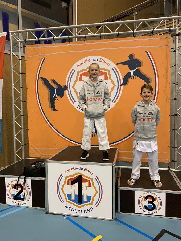 Goud en brons op het Nederlands Kampioenschap onder de 21 jaar