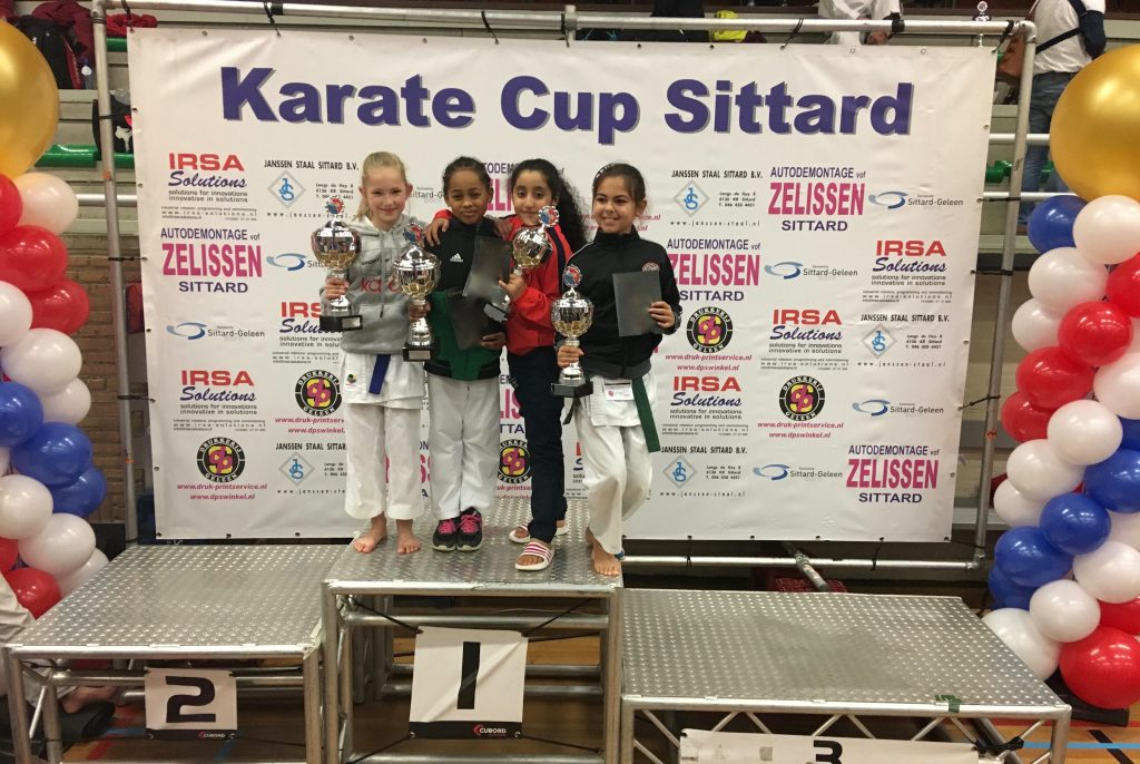 Zilveren podiumplaats op Internationale Karate Cup Sittard