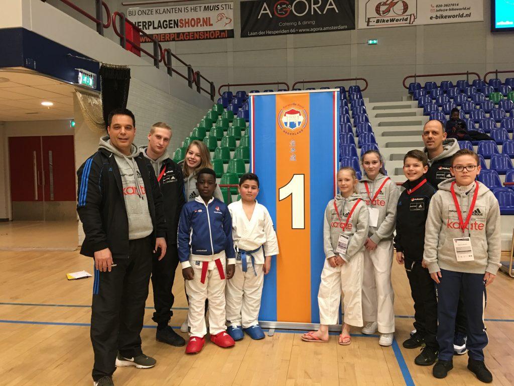 Karateka's van Wairando halen goud en brons op de Internationale Open Benelux
