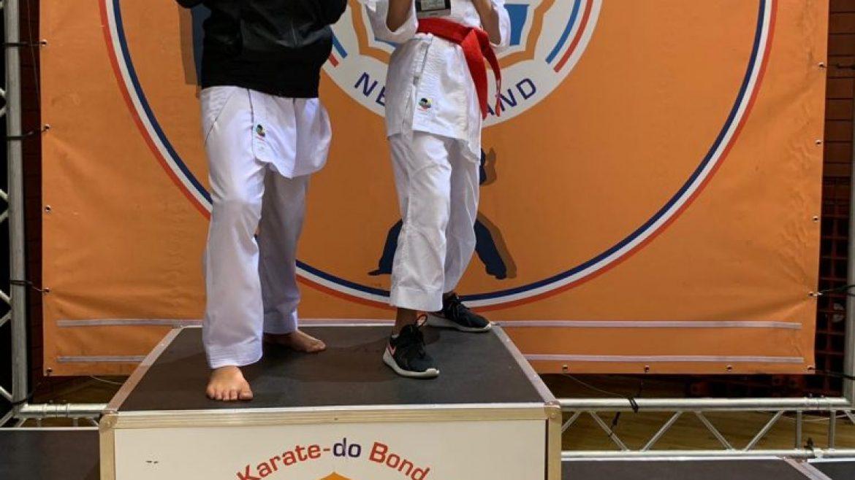 Jay en Mila behalen het Nederlandse Goud op Open Jeugdkampioenschap in Almere
